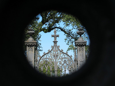 Peering Through the Cemetery Gate #1