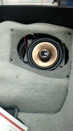 1986 Chevy Corvette Rear Speaker Installation - USA