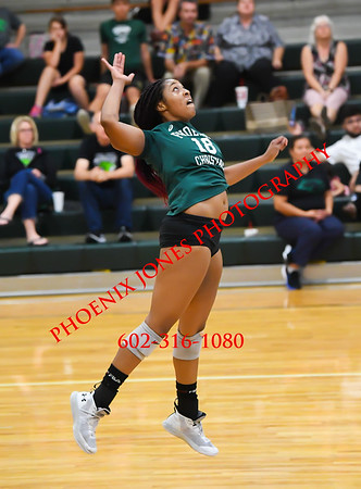 10-16-19 - Phoenix Christian v Valley Lutheran - Volleyball Match
