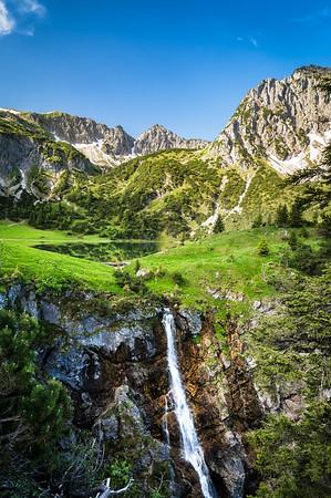 Alps summer