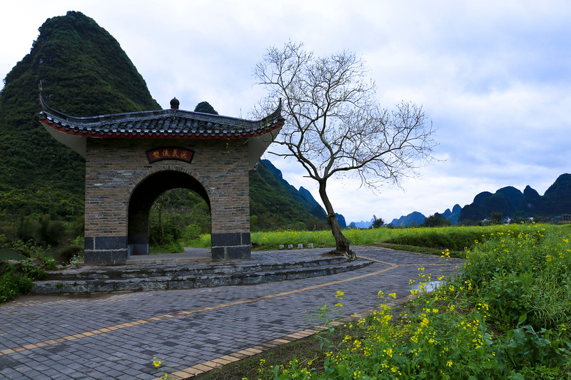 Countryside scenery in Yangshuo