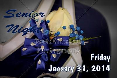 2014 Senior Night Introductions (01-31-14)