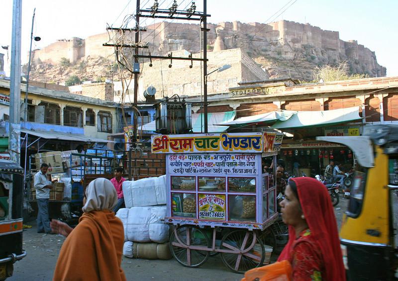 the fort above johpur