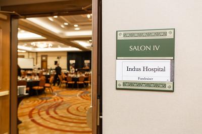 Ashraf Keynotes Fundraiser for Indus Hospital - Silicon Valley, California - November 2019