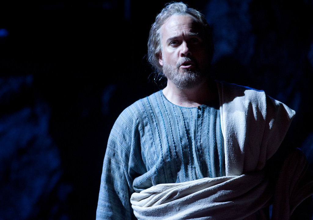 ". Peter (William Burden) denies knowing Yeshua (Jesus) in a scene from San Francisco Opera\'s world premiere of Mark Adamo\'s ""The Gospel of Mary Magdalene,\"" Sunday, June 16, 2013 at the War Memorial Opera House in San Francisco. (D. Ross Cameron/Bay Area News Group)"