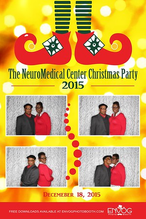 The Neuromedical Center Christmas Party (prints)