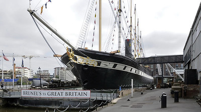 SS Great Britain, Bristol, 2012