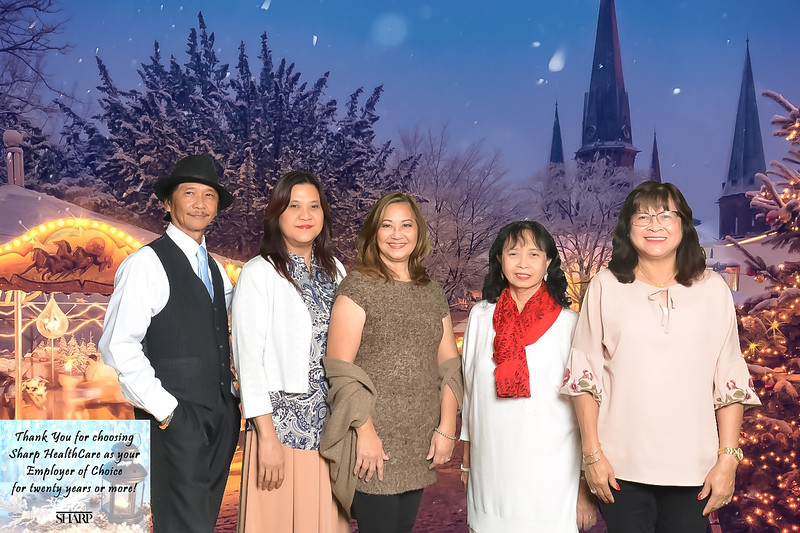Magic of Winter hosted by Sharp HealthCare.  San Diego, CA. December 5, 2019