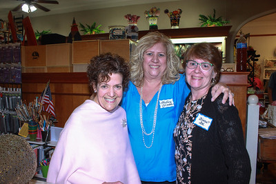 Chamber Holds Food Drive, Hosts Mixer