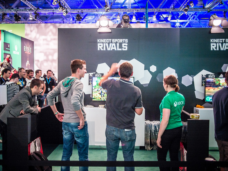 Kinect Sports Rivals at Gamescom 2013