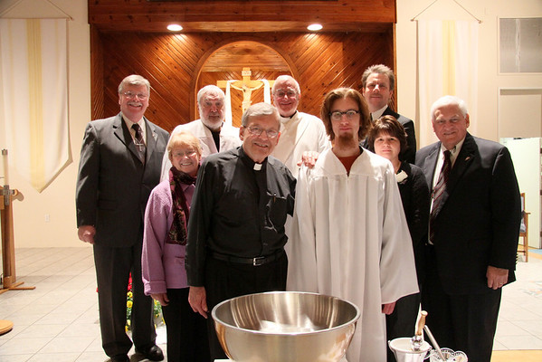 Easter Vigil 2012 at Our Lady of Perpetual Help ~ Windham, Maine ~