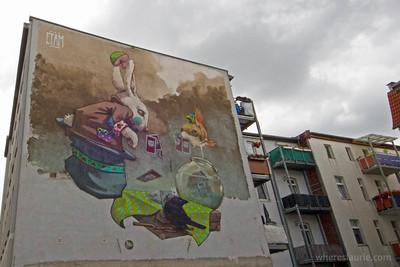 Halle street art