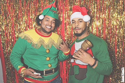 12-19-19 Atlanta Photo Booth - Christmas Luncheon - Robot Booth