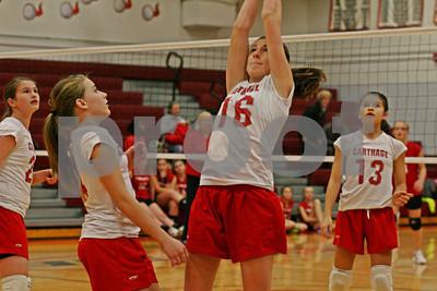 12/4/2012 - Middle School 8th Grade - Lowville vs. Carthage - Carthage Central Schools, Carthage, NY