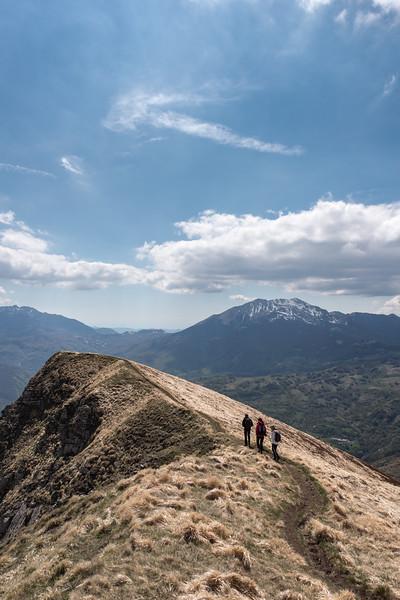 Monte Ventasso - Ramiseto, Reggio Emilia, Italy - April 30, 2017