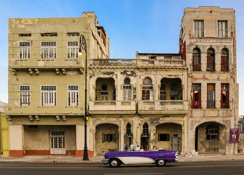 Classic Cars on the Havana Malecon 7