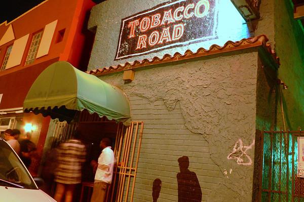 Tobacco Road, Miami, Band Night