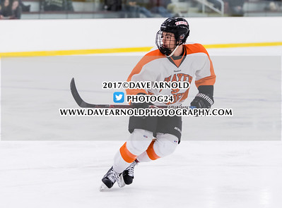 11/2/2017 - Boys Varsity Hockey - Thayer vs Governor's Academy