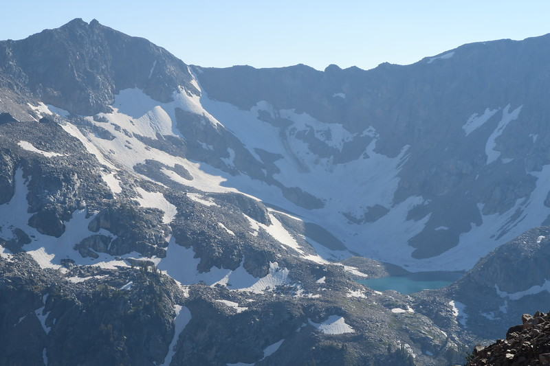 Mica Lake - above Lake Solitude in North Cascade Canyon