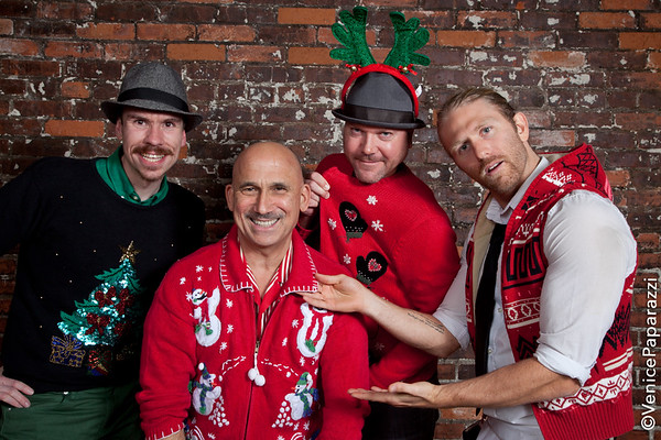 12.21.12 Ugly Sweater party at the Canal Club