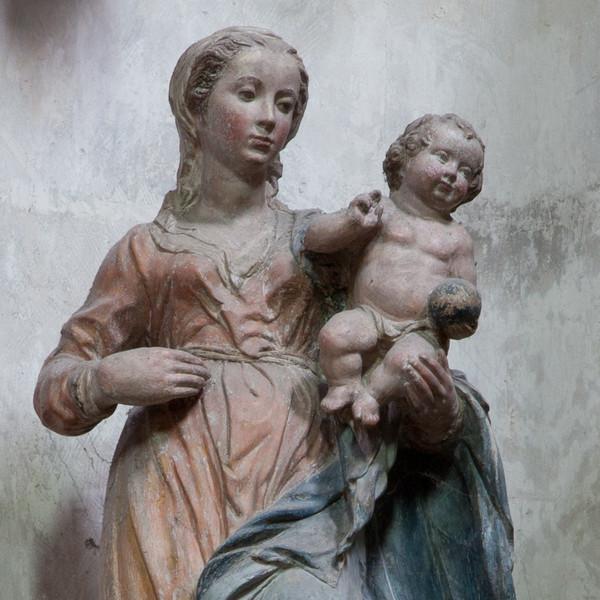 Troyes Sainte-Madeleine Church Virgin and Child