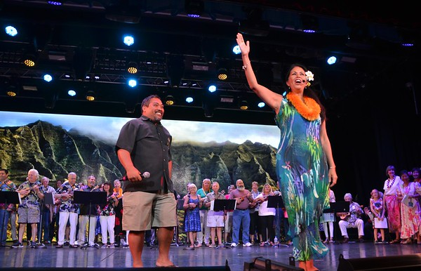 Hula & Ukulele Show - Princess Theater