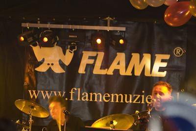 Flame bij de carnaval in Epe