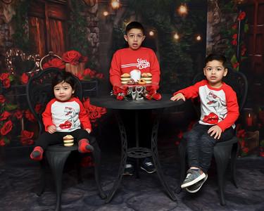 Rayyan, Mehroz & Arham Valentine's Day 2021