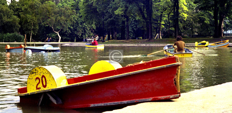 Things To Do In the Queen's Park, no.2  -  Hire a brightly painted boat.