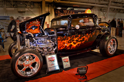 32 Ford Deuce Coupe at the Syracuse Motorama Custom and Classic Car and Motorcycle Show