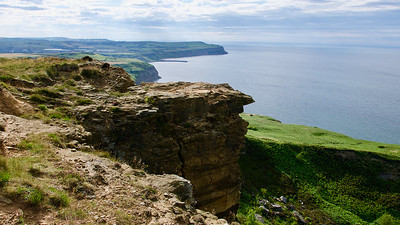 Cleveland Way (path) between Easington and Saltburn