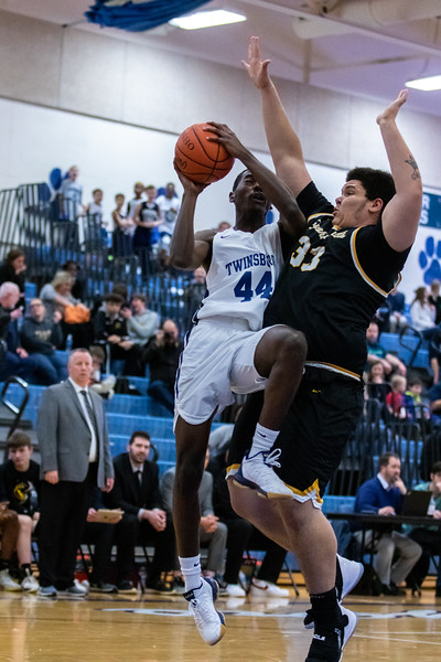 2020-01-24 --Twinsburg Boys Varsity Basketball vs Cuyahoga Falls High School Varsity Basketball