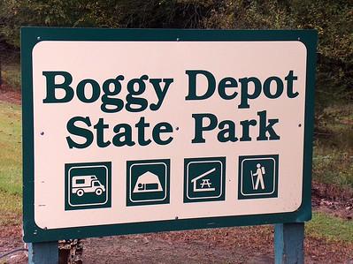 Historic Boggy Depot State Park