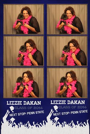 Lizzie's Graduation Party 6.8.14