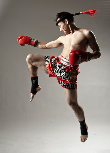 Lia Thai boxing shoot
