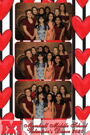 Marshall Middle School Valentines Dance February 7, 2020