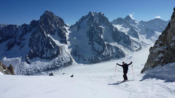 Haute Route Historique a ski, 2017