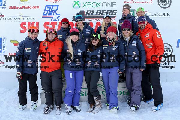 Ski Stars Podiums