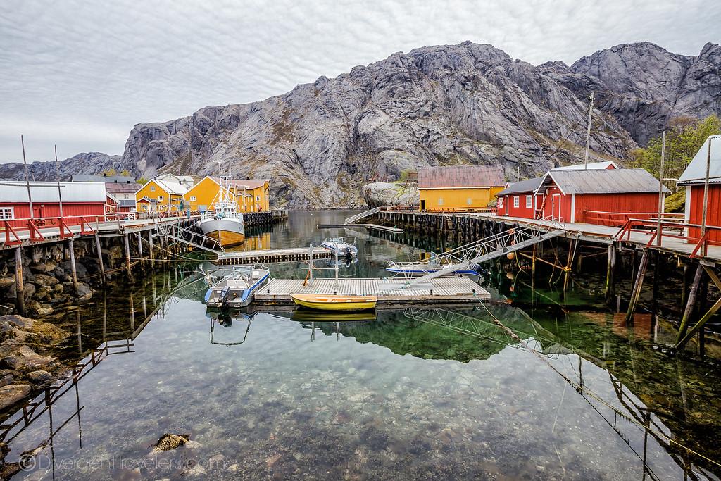 Norway Photos - Nusfjord Lofoten Islands - Lina Stock