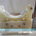 SKU: LC-MOUNT/T58, Pair of Universal Laser Tube Mounting Rack for 50mm - 80mm Glass CO2 Laser Tube