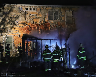 Structure Fire - Blakeman Rd, Madison, CT - 10/4/2020