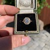 1.97ctw Antique Cluster Ring, GIA G SI2 16
