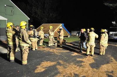 Training at Emmaus training site Nov. 27 2014