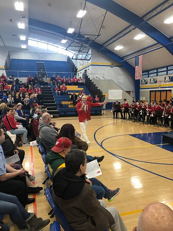3 March 2019 UW Marching Band at DDHS