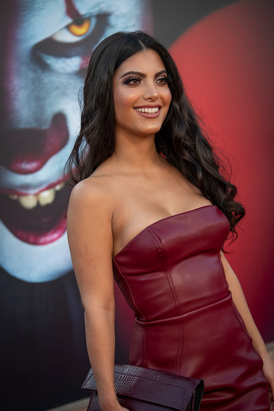 "WESTWOOD, CA - AUGUST 26: Maria Elena Davila attends the Premiere Of Warner Bros. Pictures' ""It Chapter Two"" at Regency Village Theatre on Monday, August 26, 2019 in Westwood, California. (Photo by Tom Sorensen/Moovieboy Pictures)"