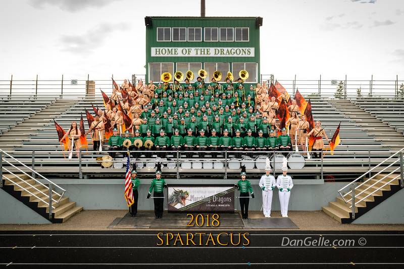 """Marching Dragons 2018 """"Spartacus"""""""