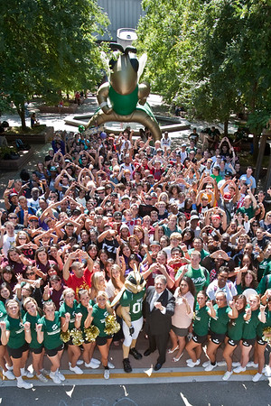 Stingers Up for the Annual Swarm Photo!!