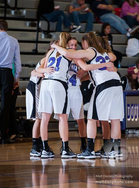 Douglas County vs. Eaglecrest, Girls Basketball, Dec. 8, 2012