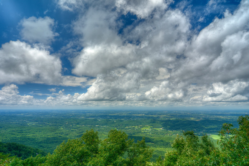 on the Foothills Parkway in TN