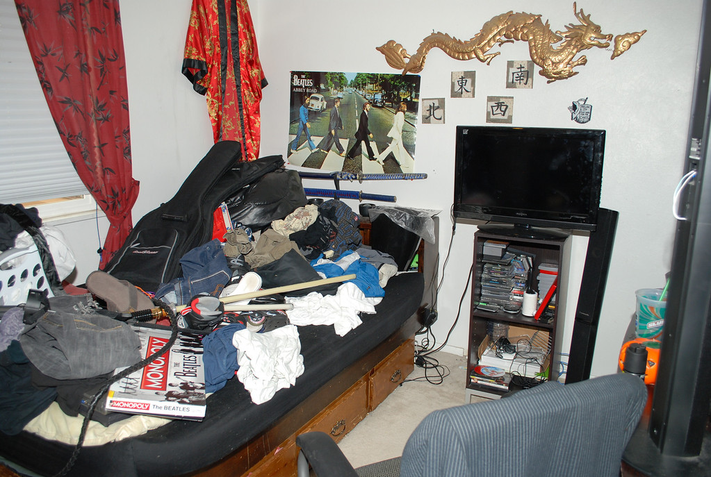 . Austin Sigg\'s bedroom in the Westminster home he shared with his mother and younger brother. Sigg pleaded guilty to kidnapping and killing 10-year-old Jessica Ridgeway. Provided by Jefferson County District Attorney\'s Office